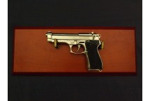 REPLIKA BERETTA 92 z 1975r NA TABLO DENIX MODEL 1254NQ+TM+35