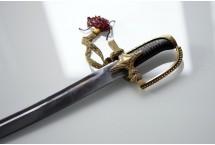 REPLIKA SZABLA POLSKA z 1750r Z GRAWEREM NR 1750 G