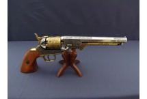 REPLIKA REWOLWER KAWALERII USA, S.Colt NA STOJAKU DENIX MODEL 1040L+800