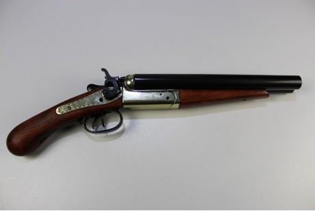 REPLIKA AMERYKAŃSKA DWURURKA, USA 1868 DENIX MODEL 1113