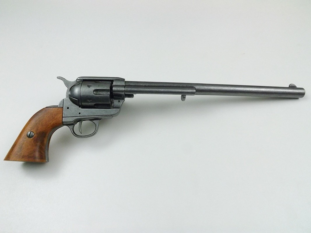 Revolver webley mark vi replica en miniatura es